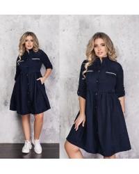 Платье Вельвет 60444 бат