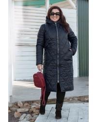 Пальто тёплое зимнее 8966 р 50-60