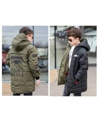 Двухсторонняя куртка весна-осень (подросток) 2128
