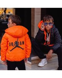 """Двухсторонняя демисезонная курточка """"Jordan"""" (детская) 2206"""